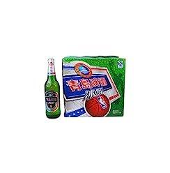 青岛啤酒冰醇瓶装600ml*12