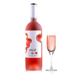 【送香槟杯同款购2瓶】意大利进口DILE帝力上帝之手 手印 天使之手起泡葡萄酒甜酒 莫斯卡托桃红起泡酒750ml