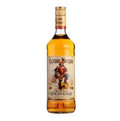 摩根船长(Captain Morgan)洋酒 原创(金)朗姆配制酒 700ml