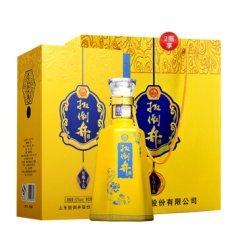 扳倒井52度十五 礼盒白酒 浓香型酒 纯粮酿造 500ml 单瓶装