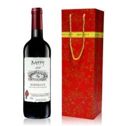 法国原瓶进口红酒 巴菲波尔多AOC级干红葡萄酒750ml*1 经典款单支