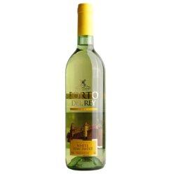 聚酒网 西班牙原瓶进口红酒 波都皇家半甜白葡萄酒750ml