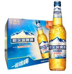 《【京东自营】哈尔滨  冰纯600ml*12瓶 44.1元(2件9折)》