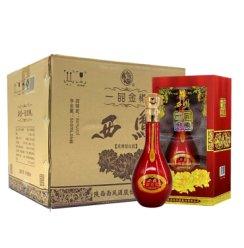 西凤一品金樽50度浓香型国产500mL*6瓶白酒整箱包邮西凤酒