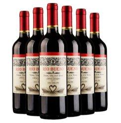 智利进口红酒 美景湾赤霞珠干红葡萄酒 原瓶进口 正品保证 750ml*6支整箱装