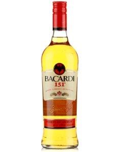 百加得151朗姆酒