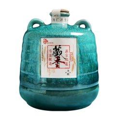 绍兴黄酒 陈酿花雕酒精美瓷坛装2500ml 糯米加饭酒 礼盒老酒 单瓶装