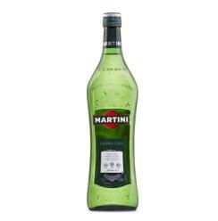 马天尼(Martini) 洋酒 味美思 干威末酒 意大利进口1L