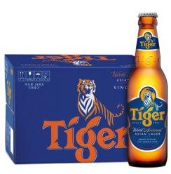 《【京东自营】虎牌啤酒(TIGER) 喜力旗下原味 330ml*24瓶 119.2元(需用券)》