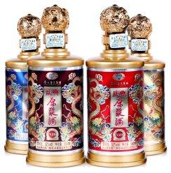 贵州茅台集团V29送礼礼盒装浓香粮食52度4瓶庆典原浆白酒整箱特价