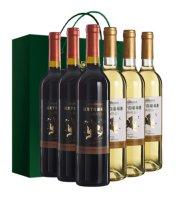 【威龙官方店】威龙官方店红酒上尚珍品葡萄酒 750ml 干白干红各三只整箱