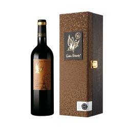 【京东超市】金蝴蝶干红葡萄酒法国波尔多红酒礼盒包装原瓶进口葡萄酒40年树龄750ml