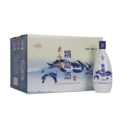 会稽山 绍兴黄酒 东风六年陈精雕黄酒半甜型500ml×12整箱