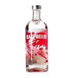 洋酒ABSOLUT RASPBERRI 瑞典覆盆梅味伏特加