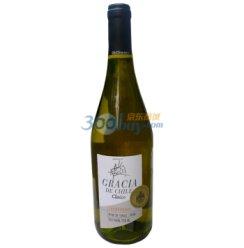 智利原瓶进口 佳西亚莎当妮干白葡萄酒(750ml)
