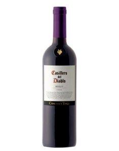 智利干露红魔鬼梅洛干红葡萄酒