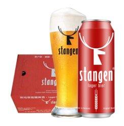 《【京东自营】斯坦根 窖藏啤酒 清爽型 500ml*24听 93元(双重优惠)》