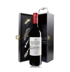 洛神山庄梅洛干红葡萄酒750ml 单皮盒 礼盒红酒