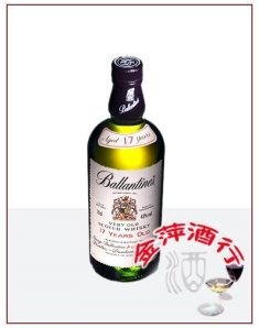 英国百龄坛17年苏格兰威士忌