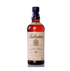 洋酒 英国Ballantine 百龄坛 21年威士忌 700ml