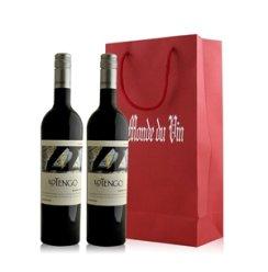 阿根廷 诺顿庄园探戈马尔白克红葡萄酒双支礼袋装