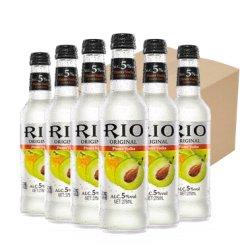 RIO锐澳 预调鸡尾酒 洋酒 果酒 275ML 5度青梅味24瓶整箱装批发