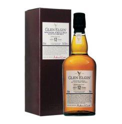 【官方旗舰店】格兰爱琴(Glen Elgin)洋酒 12年 斯贝塞苏格兰进口单一麦芽威士忌700ml