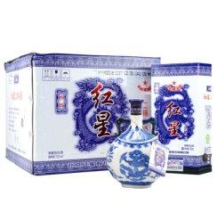 红星二锅头 清香型白酒 52度青花瓷瓶750ml*6瓶装