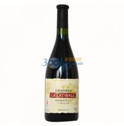 长城海岸葡萄酒高级解百纳干红特选级750ml .
