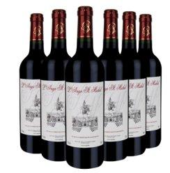 法国进口红酒米歇尔干红葡萄酒酒庄直供原瓶进口高档礼品