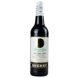 [雷拉斯官方旗舰店]Sherry雪莉酒 西班牙原瓶进口红酒 奶油Cream雪利葡萄酒 利口酒