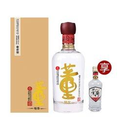 也买酒 董酒畅享版 54度500ml百草入曲纯粮固态酿造贵州高度白酒