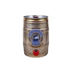 Flensburger德国弗伦斯堡桶装金啤酒5L
