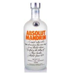 【京东超市】绝对伏特加(Absolut Vodka)洋酒 柑橘味伏特加酒 700ml