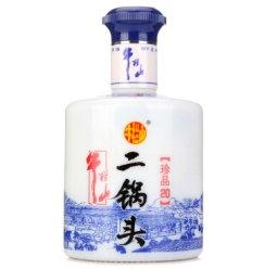 【牛栏山厂家授权】牛栏山二锅头 清香型白酒 珍品二十 52度 450ml 单瓶装