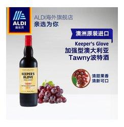ALDI奥乐齐 澳洲原装进口加强型波特酒750ml 茶色甜型葡萄酒 1瓶
