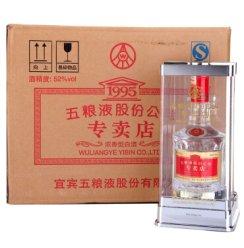 五粮液股份有限公司 52度1995专卖店酒 500ml*6瓶 整箱