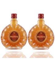 洋酒风味葡萄原汁白兰地扁瓶XO小瓶125ML(一支)
