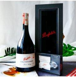 澳大利亚原瓶原装进口 奔富Penfolds 加强型葡萄酒750ml 波特酒 甜葡萄酒 奔富祖父托利红葡萄酒礼盒装