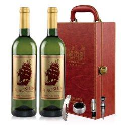 南非进口 波弗蕾酒庄金帆干白葡萄酒双皮盒750ML*2