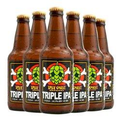 美国进口精酿啤酒 迷失海岸原装进口黑啤酒小麦白啤IPA啤酒海鲸三倍IPA覆盆子味快艇双倍IPA 海鲸三倍IPA