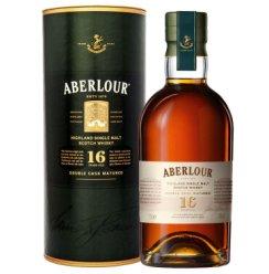 《【京东自营】亚伯乐 (Aberlour) 高地单一麦芽苏格兰威士忌 16年 双桶 陈酿 700ml 539元(双重优惠)》