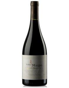 智利迈坡精品奉献系列西拉小西拉干红葡萄酒