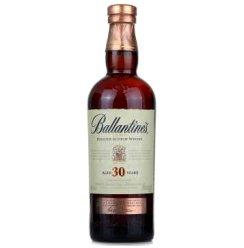 【京东超市】百龄坛(Ballantine's)洋酒 30年苏格兰威士忌 700ml