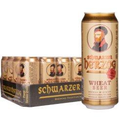 歌德德国进口小麦白啤酒500ml*24听整箱装
