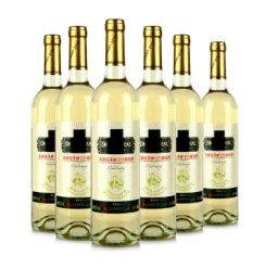 龙徽霞多丽干白葡萄酒 鑫醉网红酒 国产干型红酒 750ml 6支整箱装