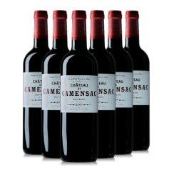 法国列级名庄 卡门萨克古堡干红葡萄酒2007年份 六支整箱6瓶装750ml