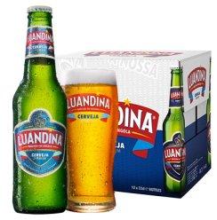 《【苏宁自营】非洲安哥拉进口啤酒 罗安娜大麦芽黄啤酒 330mL*12 39.5元(2件5折)》