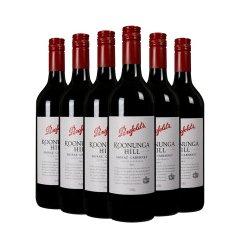 网酒网 澳大利亚红酒奔富蔻兰山设拉子赤霞珠干红葡萄酒6支整箱
