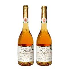 匈牙利Tokaji托卡伊贵腐酒麝香甜白葡萄酒Aszu六篓500ml*2瓶